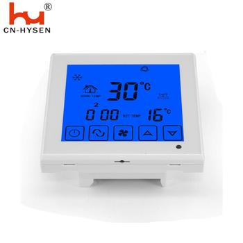 HY03AC 230V digital fcu room thermostat,modbus programmable room thermostat auto air conditioner thermostat