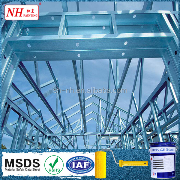 2k high build epoxy coating for steel structure