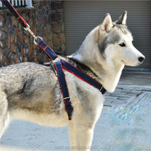 High Quality Jean Pet Harness Retractable Dog Leash Harness