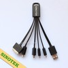 SINOTEK multi cable usb 5 in 1 universal usb charger cable for cellphone