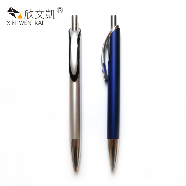 China Manufacturers New Model Cheap Plastic Stationery Ball Pen