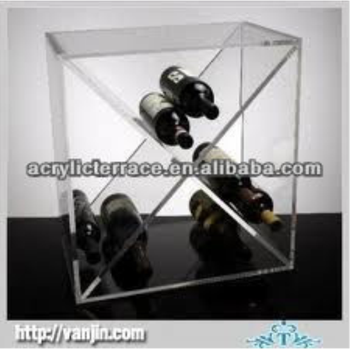three tiers acrylic beer bottle rack beverage display