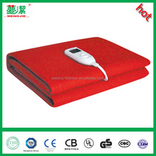 Battery Polyester Electric Heated Blanket with CE