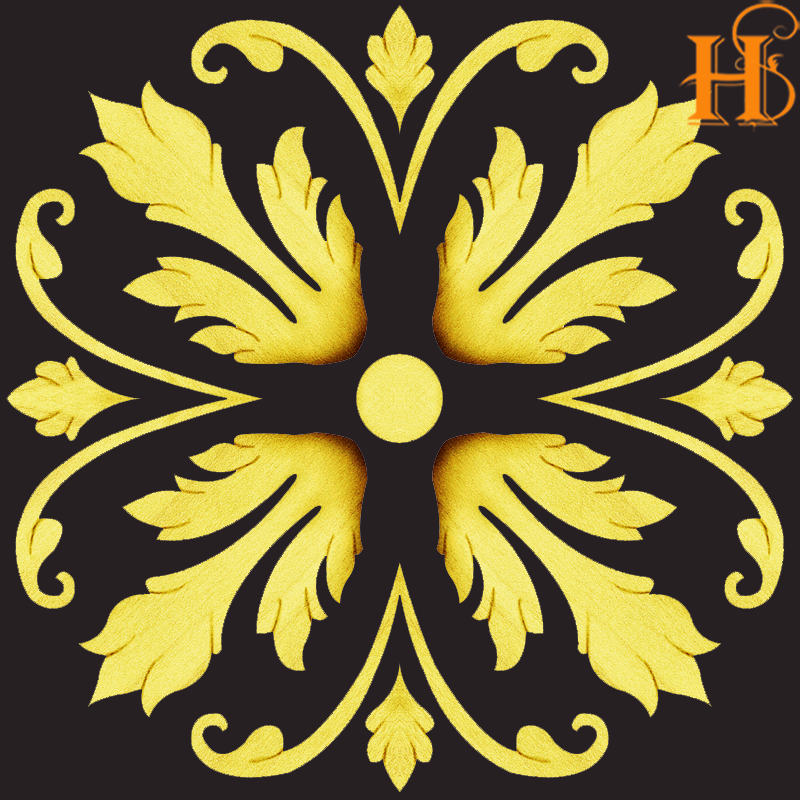 HS Decorative Decals For Furniture flower decals/Fashionable Furniture water transfer decal