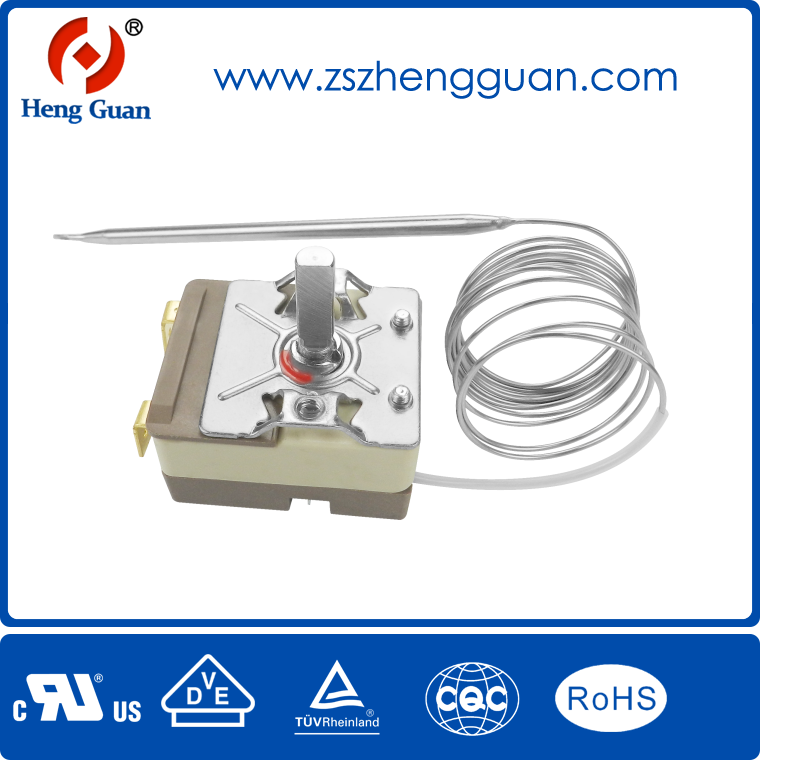 Home Appliance oven Capillary thermostat 16a 250v for sale