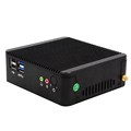 mini pc customized x86 X6620M zooly attracktive shell VGA HDMI Lan port USB docking
