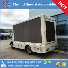 Optional P5 P6 P8 P10 advertising outdoor led truck display sale in Nicaragua