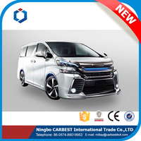 High Quality New Southeast Asia Type 2015 Toyota Vellfire Body Kit