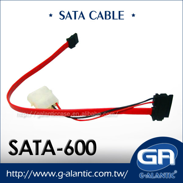 SATA-600 Serial SATA cable for Computer power adapter/sata fpc cable