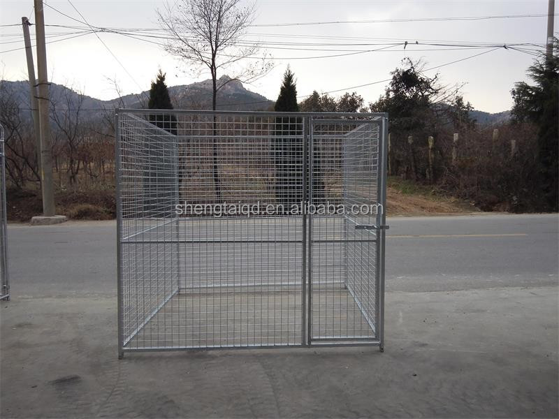 used dog kennels or galvanized comfortable iron dog kennel