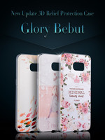 DIY 3d relief soft tpu printing fancy mobile covers for iPhone 6 6s