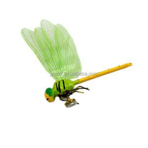 high quality gift craft 3D dragonfly pendant fridge magnet