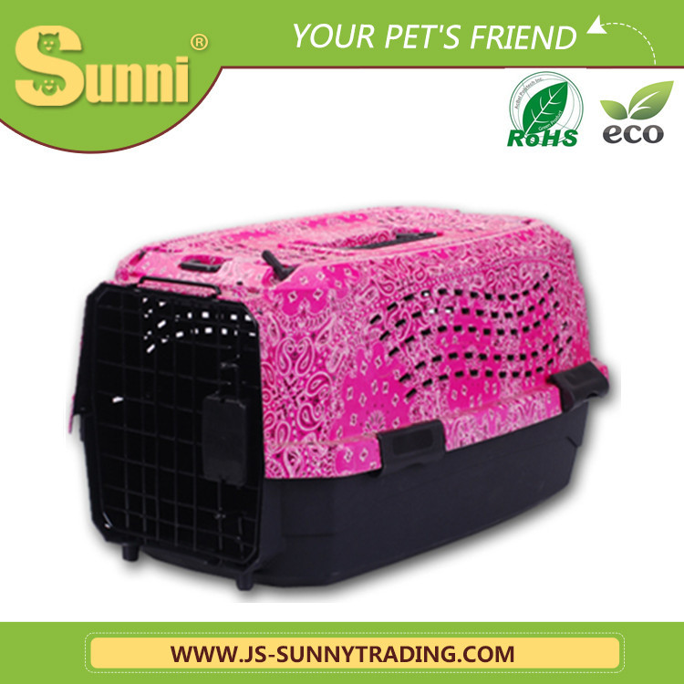 Customized pet carrier plastic best dog kennels