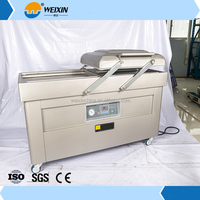 304 stainless steel double big chamber vacuum packing/sealing machine