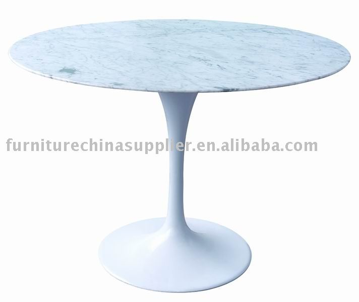 SDAWY-Marble Top Aluminum Base Dining Table RT-335(R)