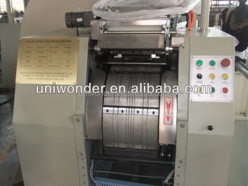 full automatic bag machine high speed computer control paper bag making machine price