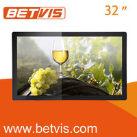 32inches Highly stable lcd display advertising