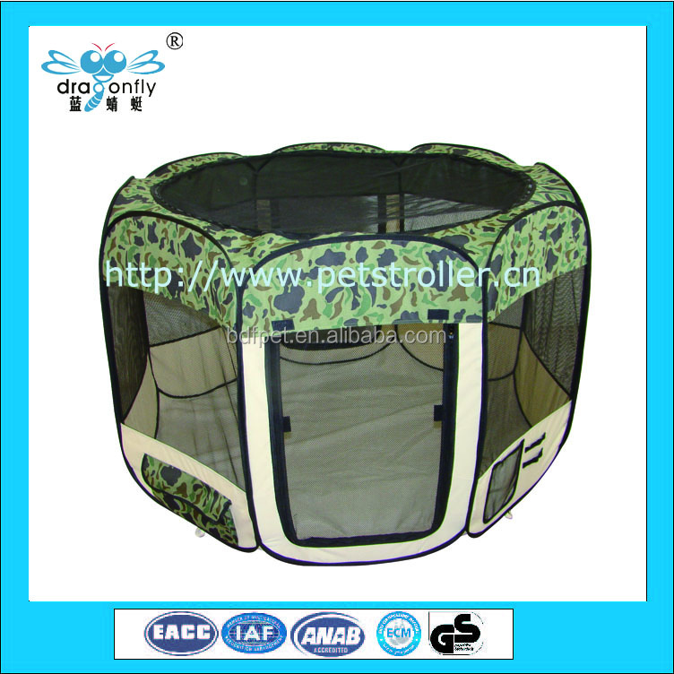durable soft sided Carrier Pop up foldable house Animal Playpen for Pets