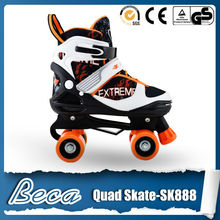 kids 608zb bearing wheel roller mini quad skate