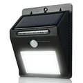 Advanced Waterproof 16led light wall garden outdoor security solar light