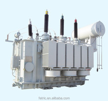 Three phase oil immersed 25 mva transformer