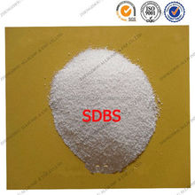 90% White power sodium linear alkylbenzene sulfonate las for industry use