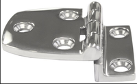 Customized satinless steel casting parts for glass shower door hinges