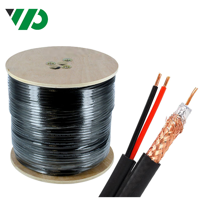 PTZ Siamese RG59 Cable Overall Jacket 1000ft