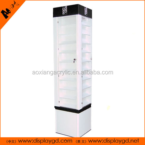 OEM acrylic display rack department store display racks acrylic display
