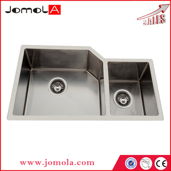 UPC handmade stainless steel kitchen sink JDH-7643