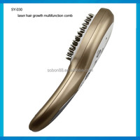New laser hair growth brush laser comb for hair loss treatment