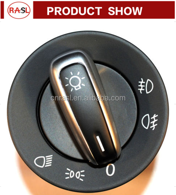 Good quality Head Lamp Switch for VW GOLF MK6 T5 PASSAT TIGUAN 3C8 941 431C 5ND 941 431A