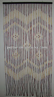 2013 Latest Design String Bamboo And Wood Bead Curtain
