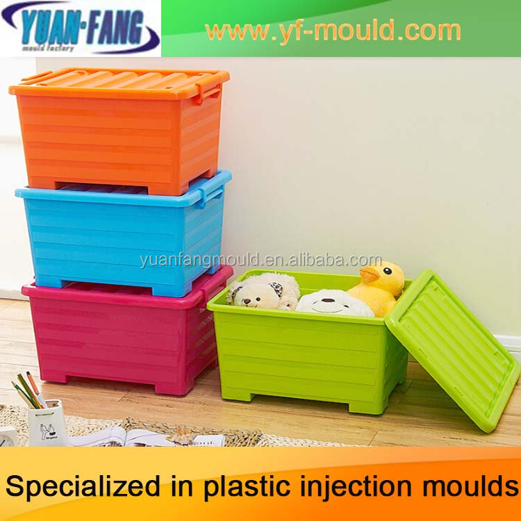 high quality plastic Storage battery box mould