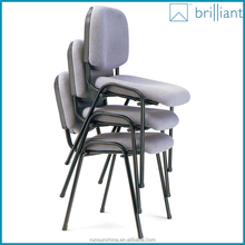 3070 cheap used fabric padded stackable banquet chairs without armrest ,no white tablet
