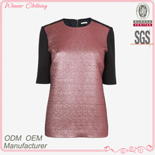 New fashion woman daily/casual t-shirt slim fit 2012 women's apparel