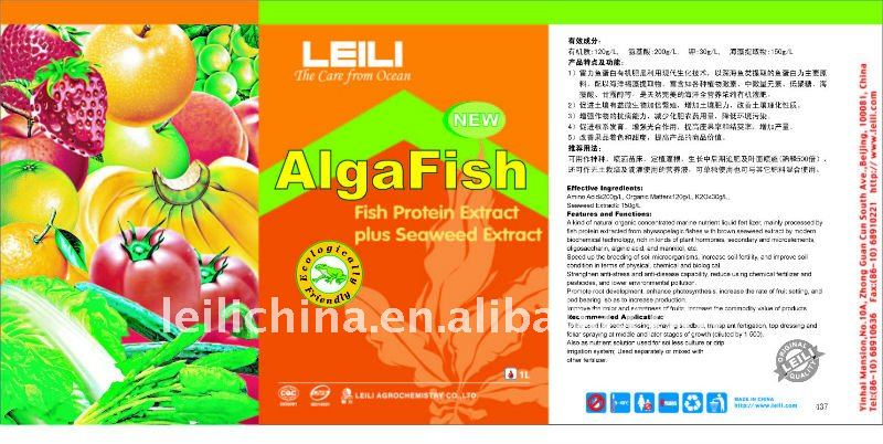 AlgaFish Fish protein extract plus seaweed extract