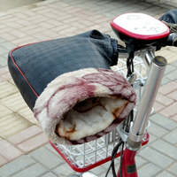 Motorcycle winter hand muffs