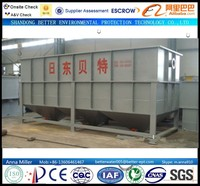 12mt/hour Zinc Plating Water Purification Machine, quick remove Suspended Solids