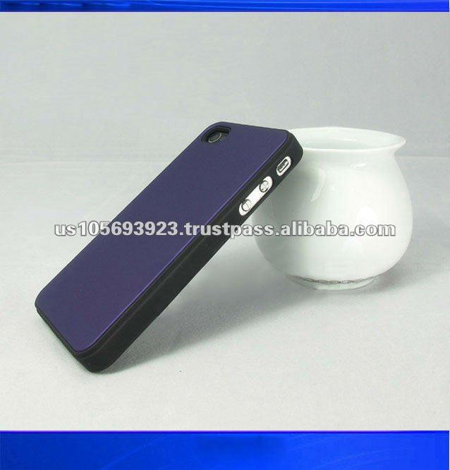 New style leather sticker mobile phone case for iphone4/4s