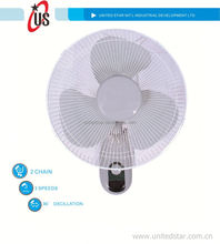 16inch 18inch, wall mouted fan decorative electric wall fans