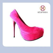 Top high heels fuxia latest 2013 women shoes