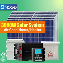 3kw home solar roof pv mounting power system station for ground installation
