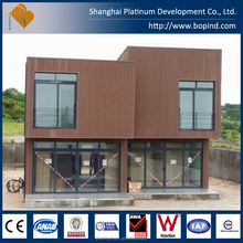 beautiful prefabricated modular homes villa house made in China for sale