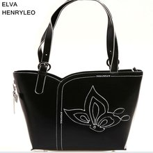 Korea style women partysu handbag,quality PU butterfly design lady leisure bag