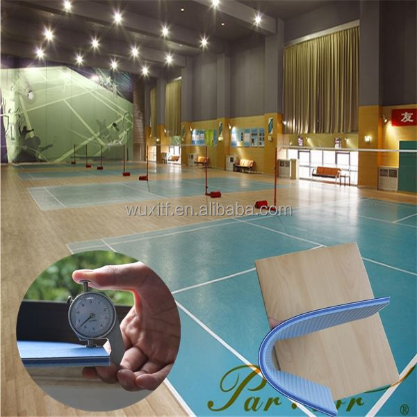 Unique style plastic volleyball sports floor,customized 8mm volleyball/badminton court floor
