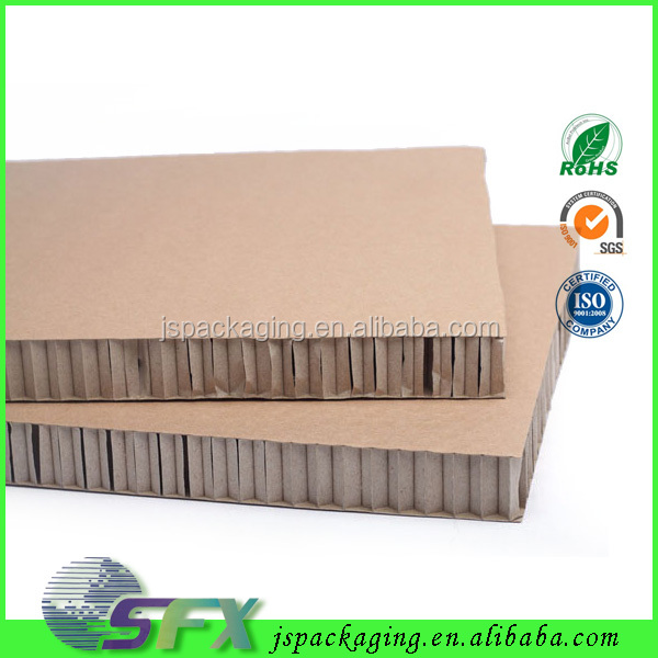 100% recycle 30mm thick corrugated waterproof honeycomb paper cardboard sheets