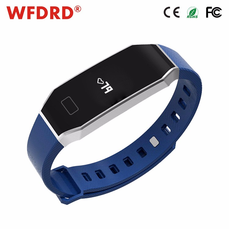 Global Shenzhen exporter waterproof digital blood pressure monitor silver bracelet mens watch