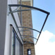 UV Protection Garden Pc Polycarbonate Sheet Bracket And Canopy Window Awning