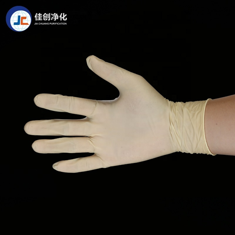 High Elasticity Anti-oil Industrial Disposable powder free latex <strong>gloves</strong> for examination